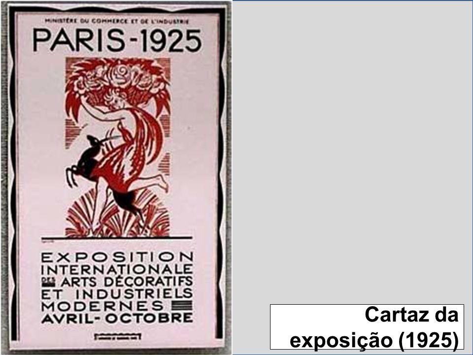 Cartaz da exposição (1925)