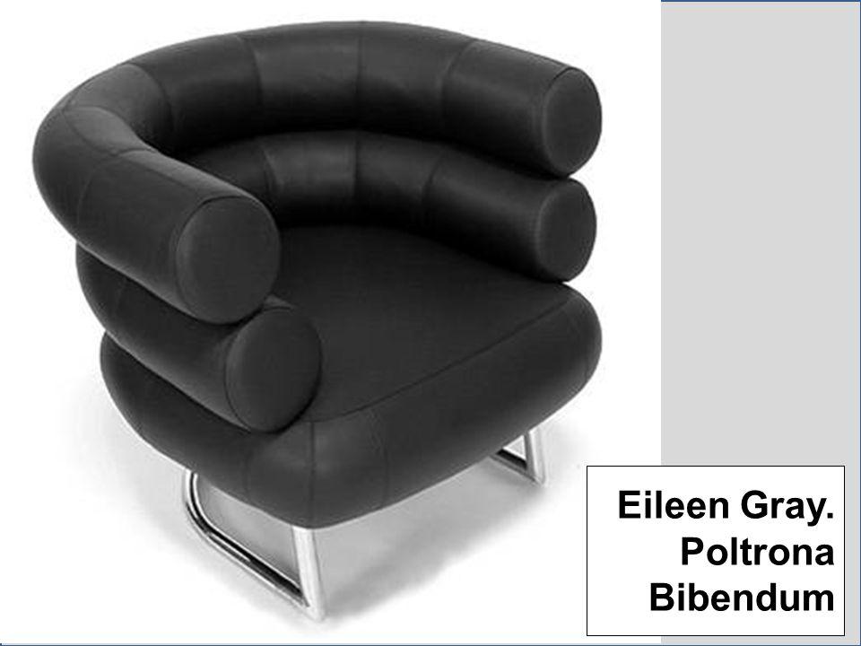 Eileen Gray. Poltrona Bibendum