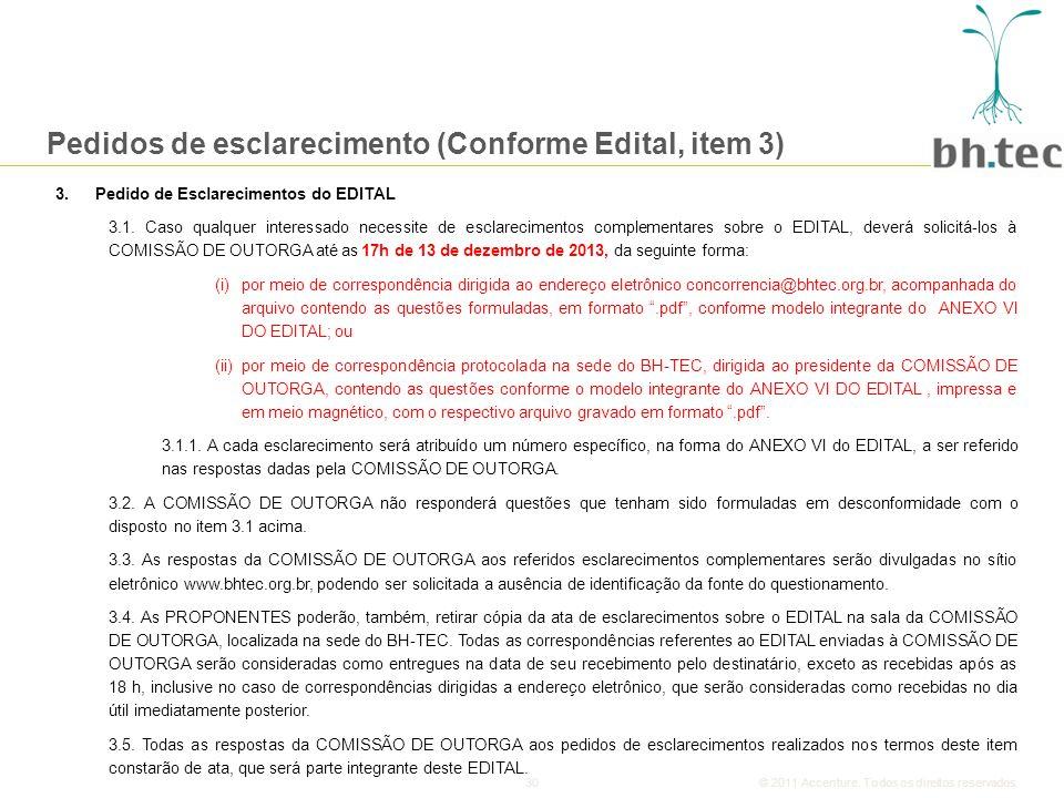 30© 2011 Accenture.Todos os direitos reservados.