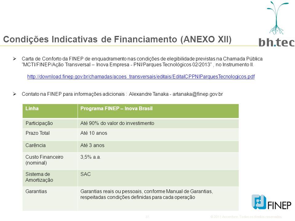 31© 2011 Accenture.Todos os direitos reservados.