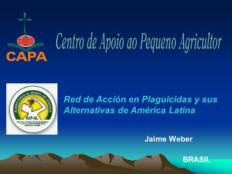Jaime Weber BRASIL Red de Acción en Plaguicidas y sus Alternativas de América Latina