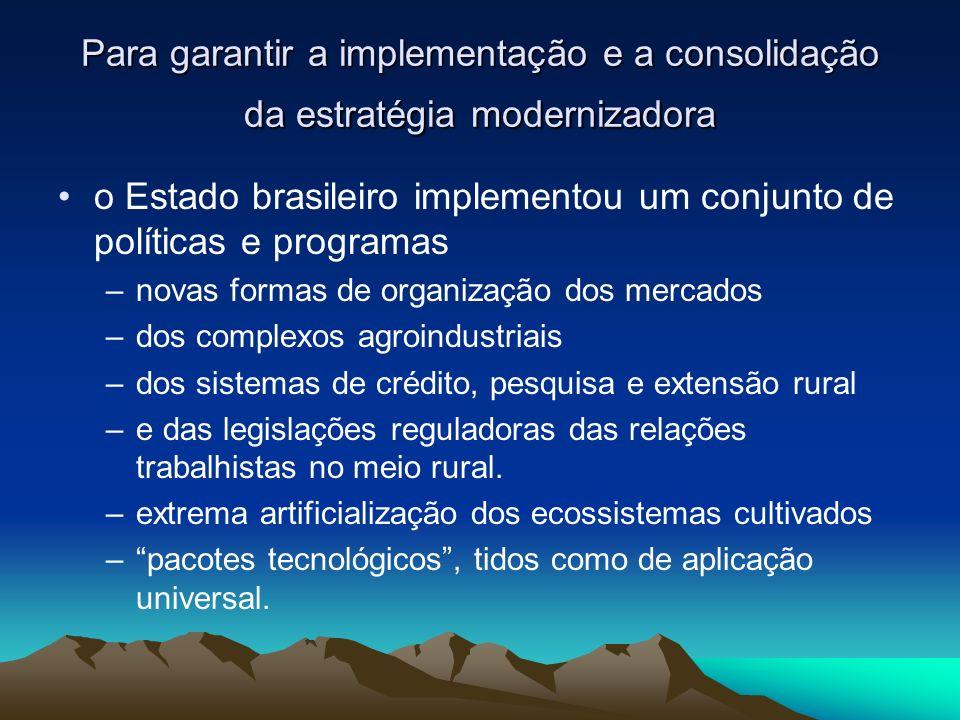Continuação As redes locais de desenvolvimento agroecológico vêm se fazendo presentes em vários espaços de influência sobre políticas públicas relacionadas à biodiversidade ( lei de patentes, a lei de sementes, os direitos dos agricultores, a Campanha por um Brasil Livre de Transgênicos etc.