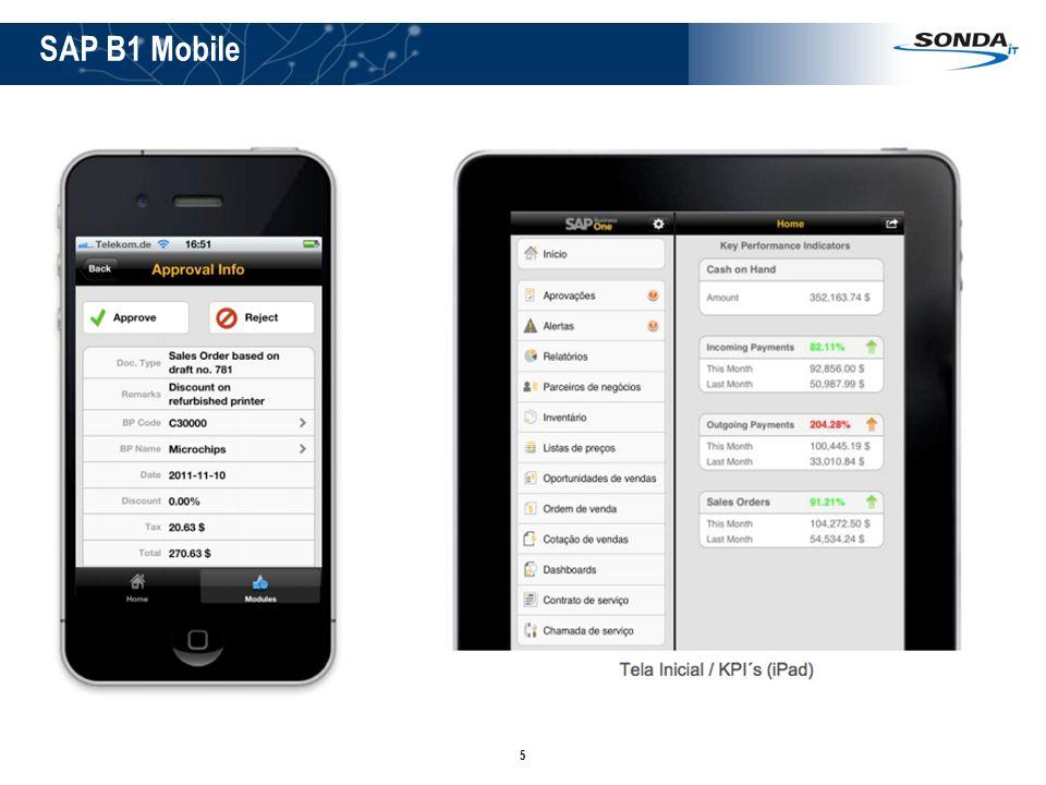 5 SAP B1 Mobile