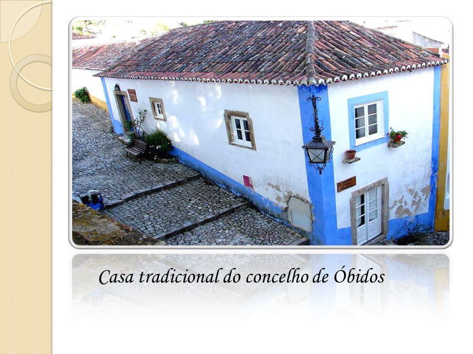 Casa tradicional do concelho de Óbidos