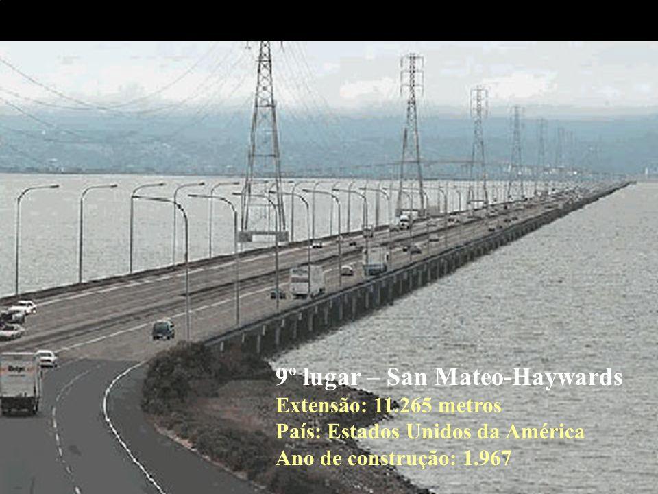 10º lugar – Seven Mile Extensão: 10.887 metros País: Estados Unidos da América Ano de construção: 1.982