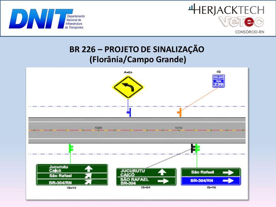 BR 226 – PROJETO DE SINALIZAÇÃO (Florânia/Campo Grande)