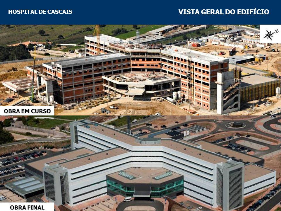 HOSPITAL DE CASCAIS FUNDAÇÕES CARACTERIZAÇÃO DAS FUNDAÇÕES Tensão admissível, em geral, de 400kPa.Tensão admissível, em geral, de 400kPa.