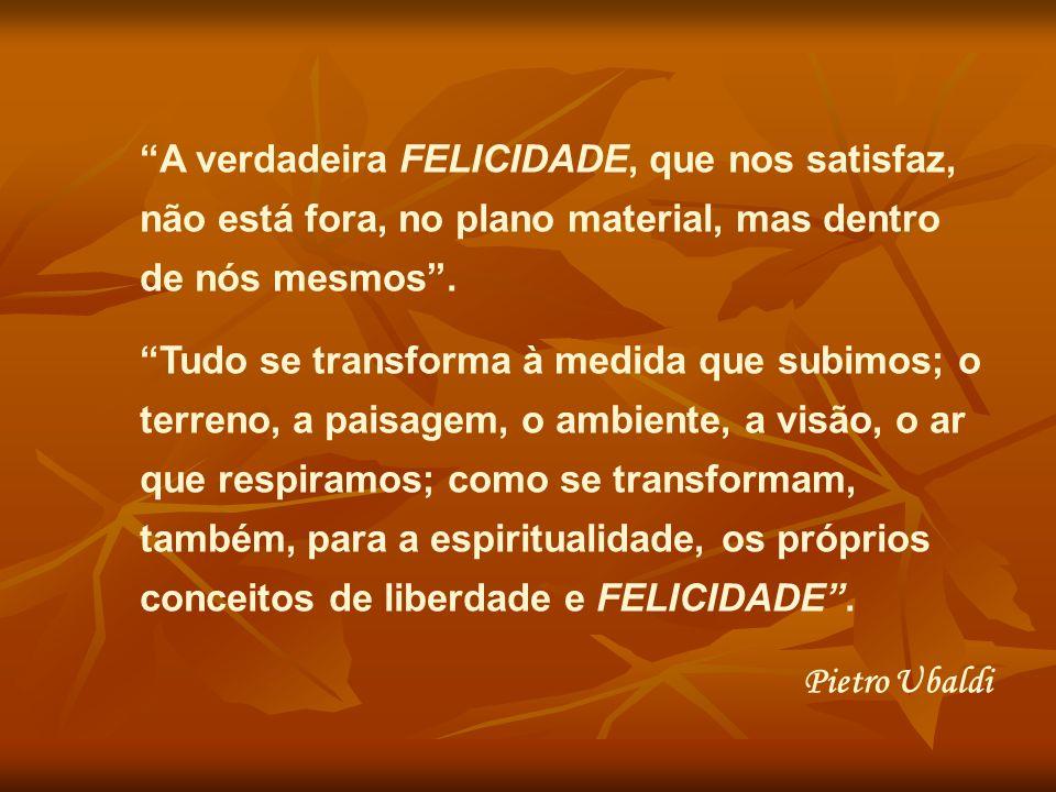 Ser feliz é compromisso para hoje, que se inicia pelo olhar para as coisas do mundo, passa pelo coração em forma de reconhecimento pelos presentes que nos chegam, completa-se em gratidão, oferecendo à vida o que ela nos dá em abundância.