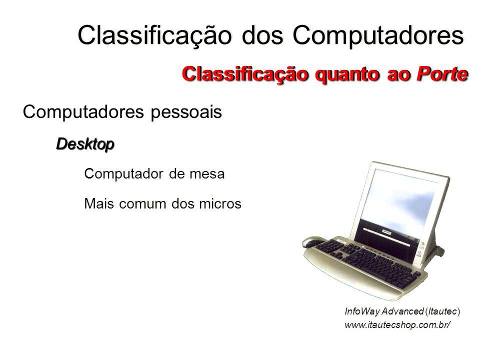 Computadores pessoaisDesktop Computador de mesa Mais comum dos micros Computadores pessoaisDesktop Computador de mesa Mais comum dos micros Classifica
