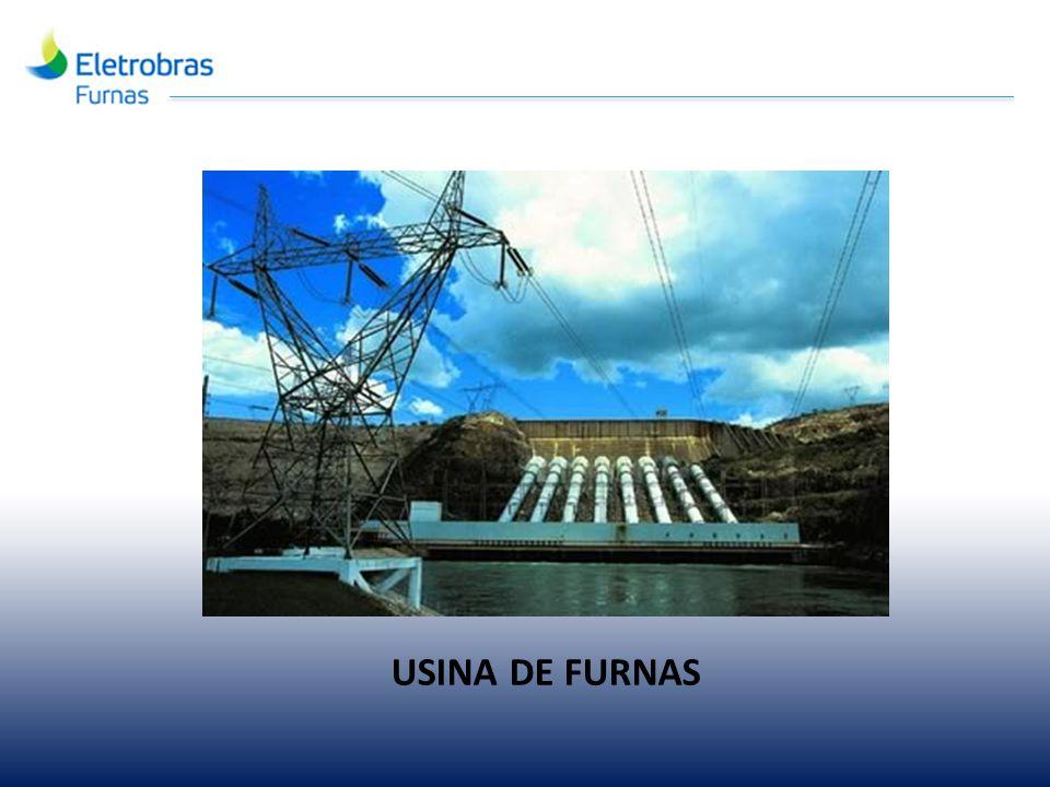 Sistema Eletrobrás Furnas 12 Usinas hidrelétricas 02 Usinas termelétricas Potência total: 10.050 MW (± 9%) Usina Serra do Facão inaugurada em 19/10/10.