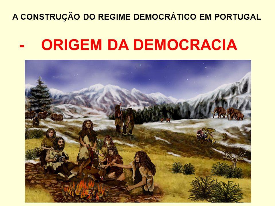 - ORIGEM DA DEMOCRACIA
