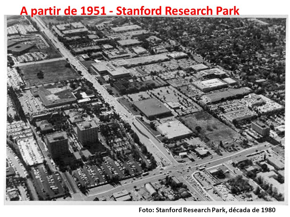 Fonte: Triangle Research Park, Carolina do Norte, EUA Research Triangle Park 1960