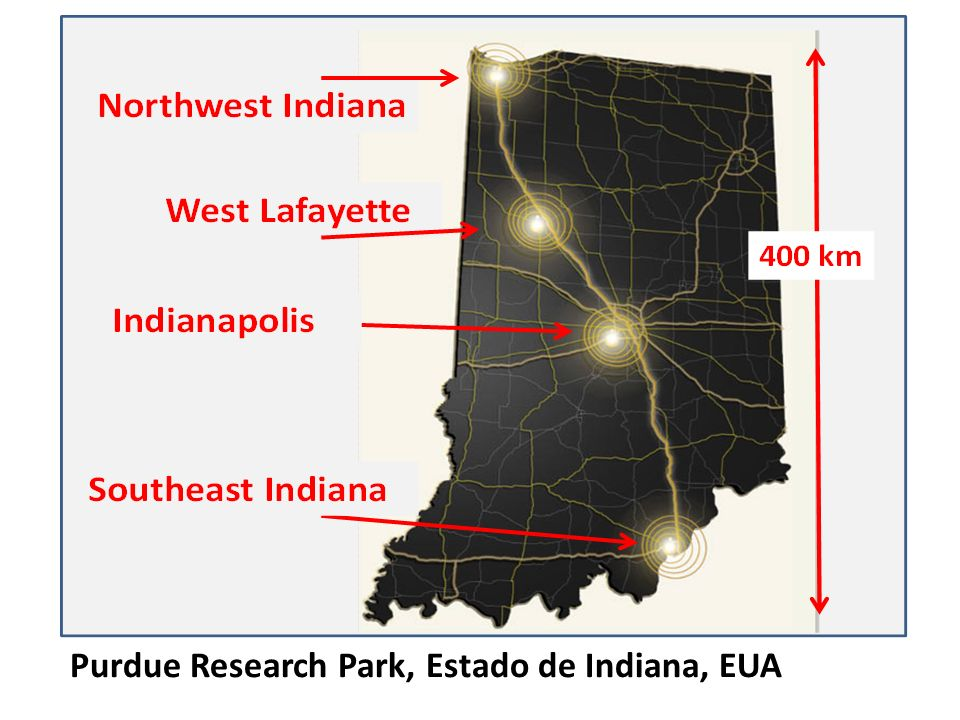 Purdue Research Park, Estado de Indiana, EUA