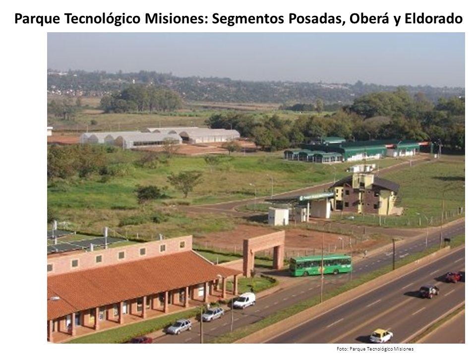Parque Tecnológico Misiones: Segmentos Posadas, Oberá y Eldorado Foto: Parque Tecnológico Misiones