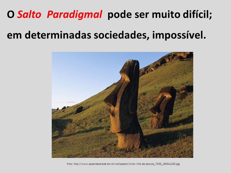 O Salto Paradigmal pode ser muito difícil; em determinadas sociedades, impossível. Foto: http://www.papeldeparede.etc.br/wallpapers/chile--ilha-de-pas