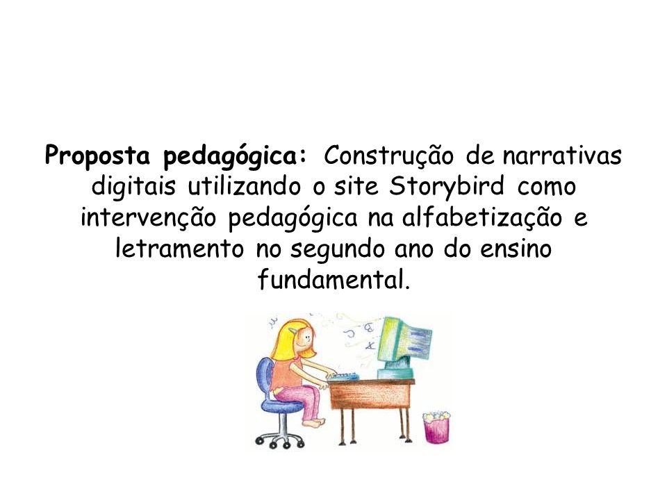 Proposta pedagógica: Construção de narrativas digitais utilizando o site Storybird como intervenção pedagógica na alfabetização e letramento no segund