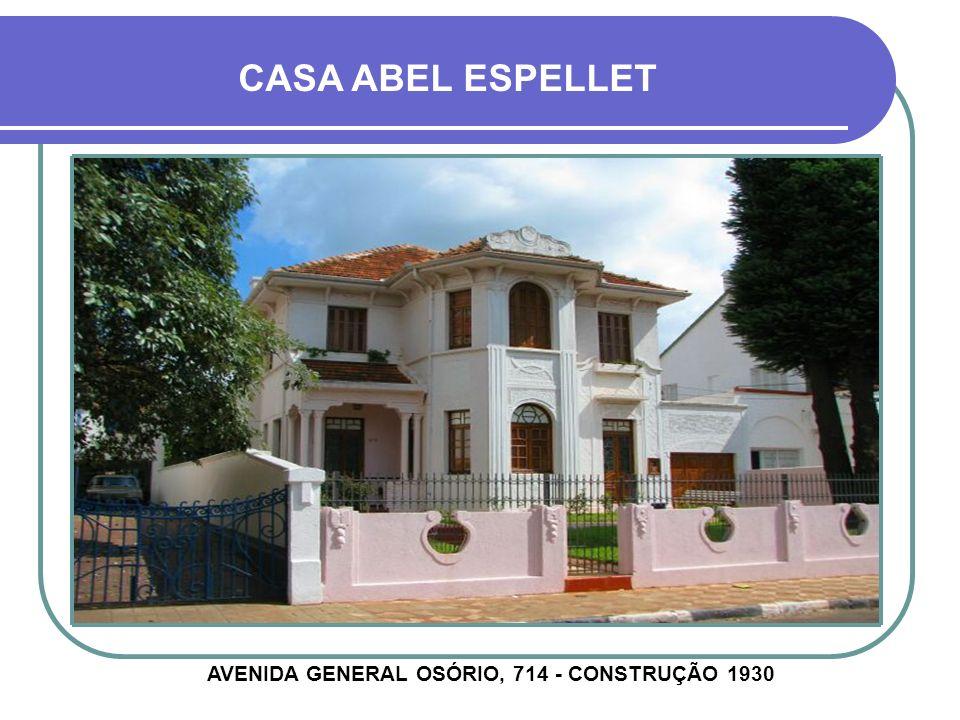 CASA EDLER AVENIDA GENERAL CÂMARA, 1149 - CONSTRUÇÃO 1928