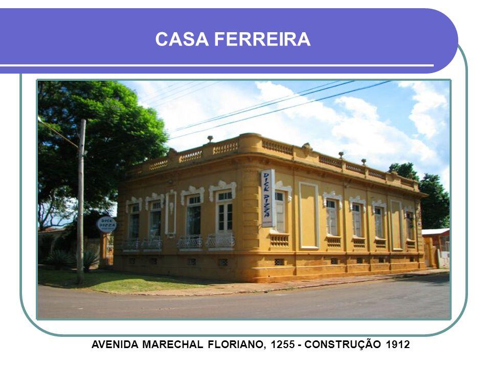 CASA ABEL ESPELLET AVENIDA GENERAL OSÓRIO, 714 - CONSTRUÇÃO 1930
