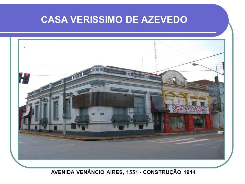CASA SEBASTIÃO DE OLIVEIRA AVENIDA GENERAL OSÓRIO, 1587 - CONSTRUÇÃO ANTERIOR À 1900