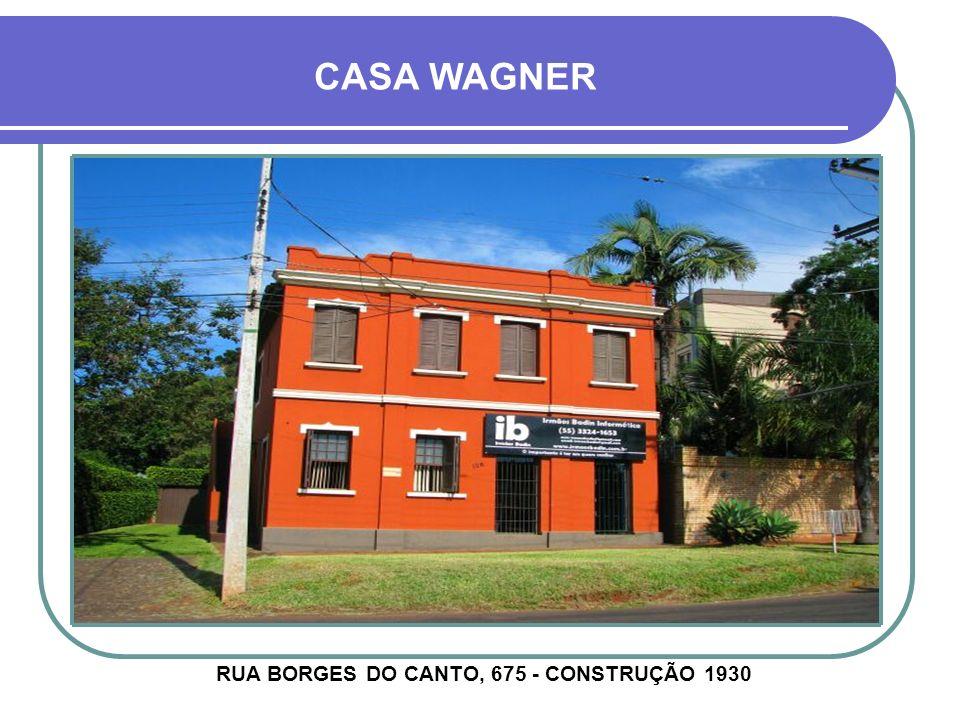 CASA VIECELI - CACHOEIRA RUA BARÃO DO RIO BRANCO, 498 - CONSTRUÇÃO 1926