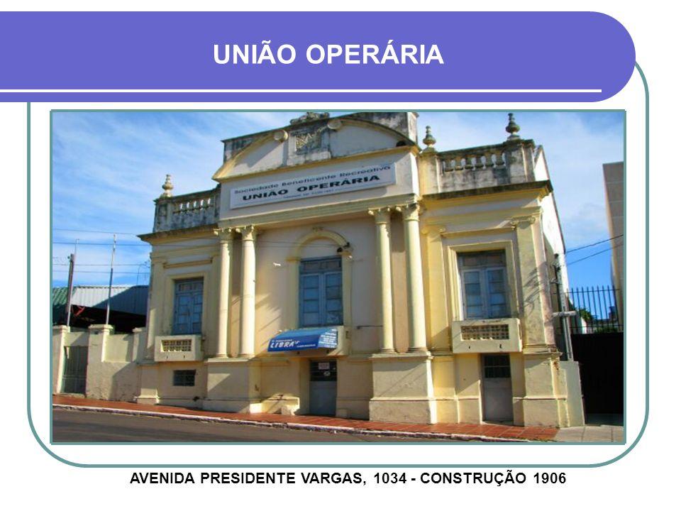 SOLAR BRANDÃO AVENIDA GENERAL OSÓRIO, 702 - CONSTRUÇÃO 1925
