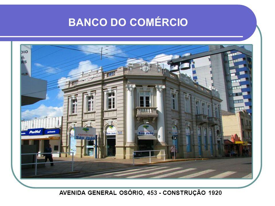 RUA PINHEIRO MACHADO, 583 - CONSTRUÇÃO DÉCADA DE 1940 ANTIGO FÓRUM