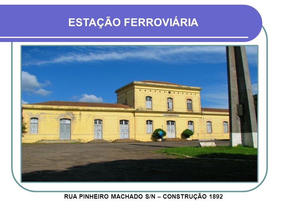 CASA BAPTISTA RUA CORONEL MARTINS 827 - CONSTRUÇÃO 1924