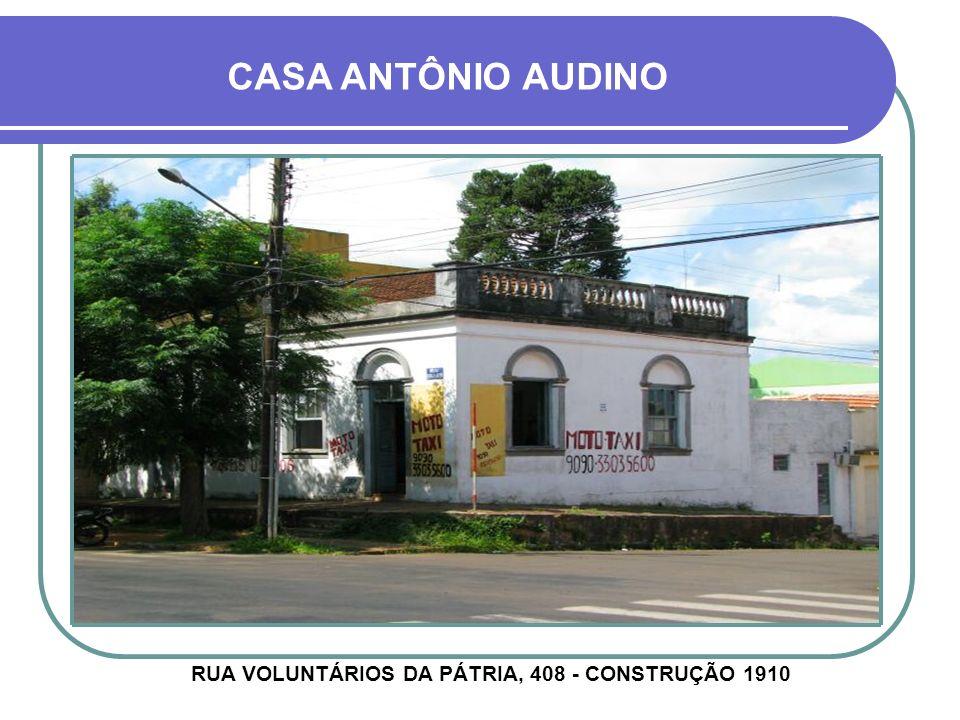 CASA VERISSIMO AZAMBUJA RUA GENERAL PORTINHO, 1274 - CONSTRUÇÃO ANTERIOR À 1934