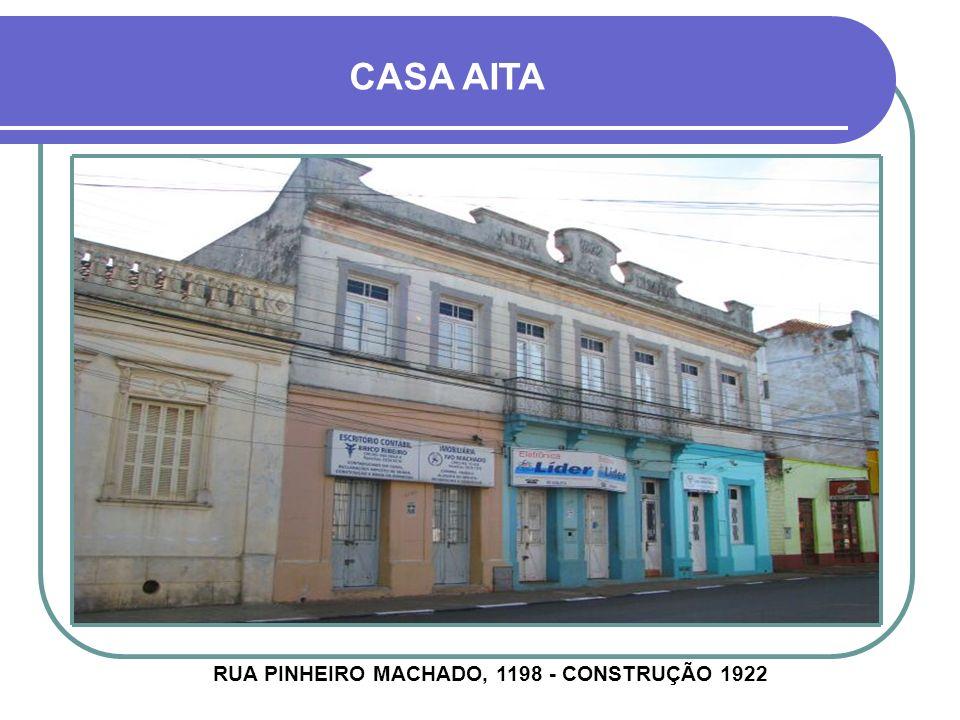 CASA WALLENHAUPT AVENIDA MARIZ E BARROS, 193 - CONSTRUÇÃO 1940