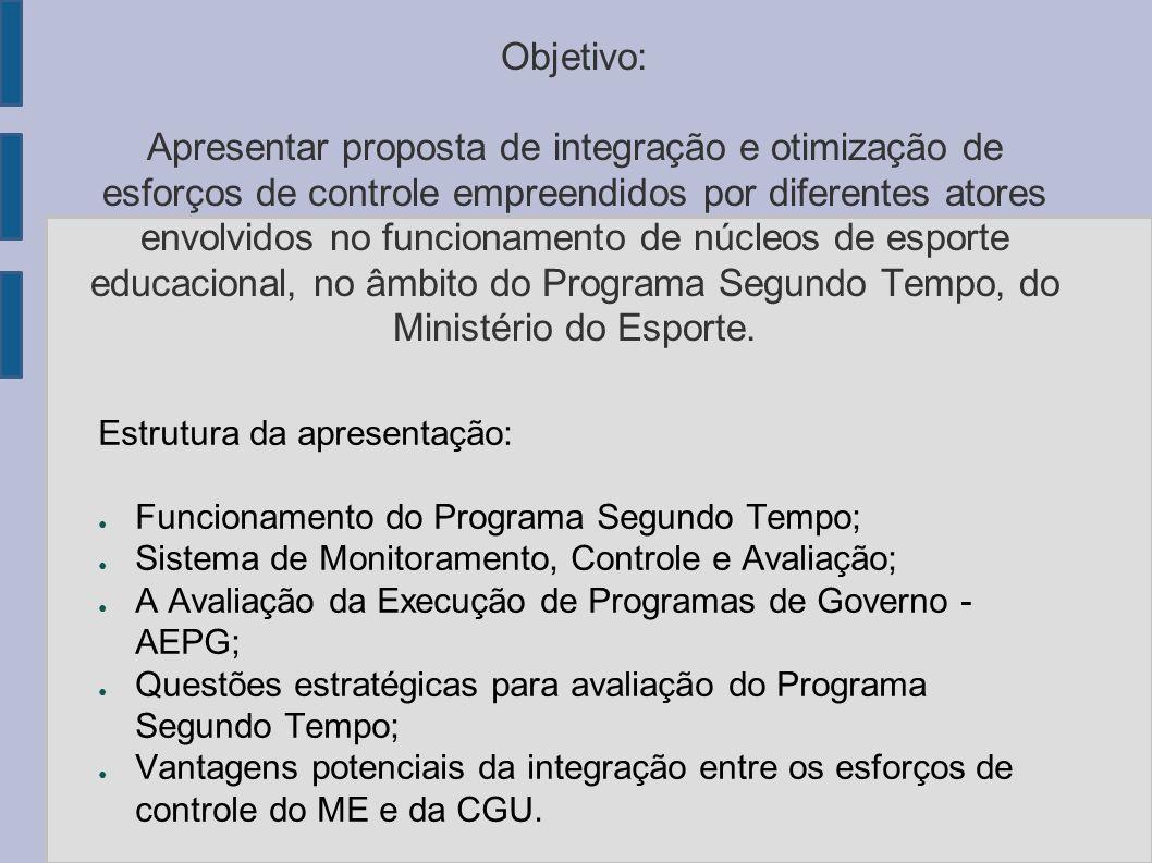 Objetivo: Apresentar proposta de integração e otimização de esforços de controle empreendidos por diferentes atores envolvidos no funcionamento de núc