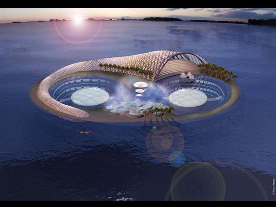 Hydropolis, o primeiro hotel sob as águas. Completamente construído na Alemanha e então montado em Dubai, está programado para ser finalizado em 2009