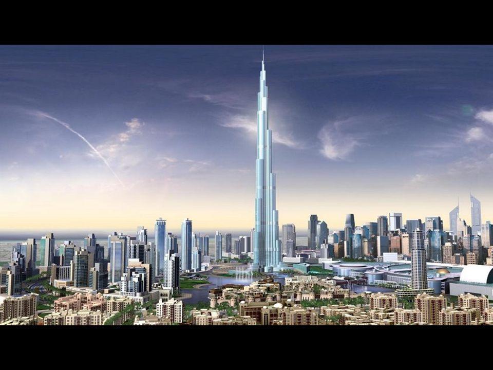 Isto é como o centro DA cidade de Dubai se parecerá ao redor 2008-2009. Mais de 140 fases do Burj Dubai já foram completados. Já é a maior construção