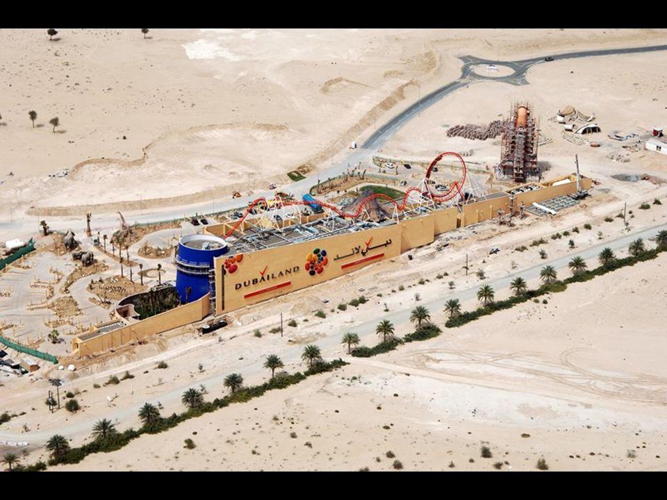 Dubailand. Atualmente, o maior conjunto de parque de diversões do mundo é o Walt Disney World Resort, em Orlando, que também é o maior empregador do l