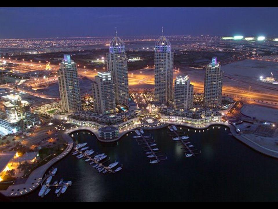 A Marina de Dubai quando completamente desenvolvida pelo homem conterá mais de 200 altos edifícios quando terminada. Será a Casa de algumas das mais a