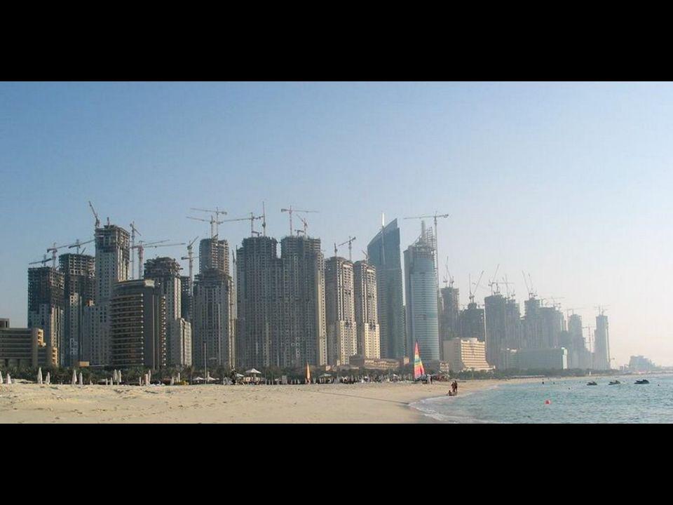 Atualmente, 25% dos guindastes do mundo estão em Dubai
