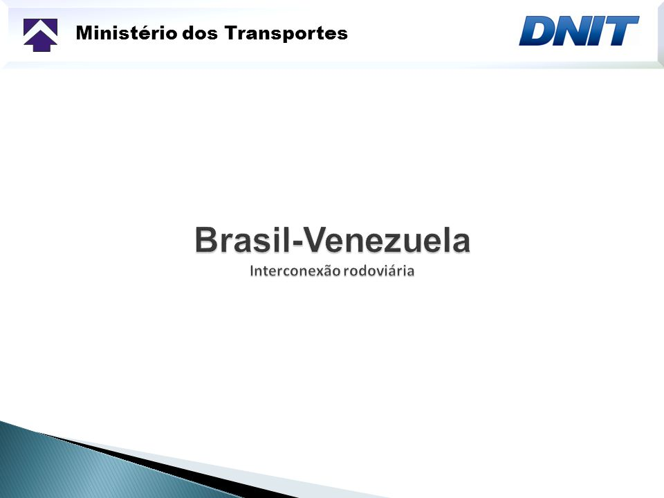 Ministério dos Transportes Instalações Fronteiriças - Bonfim