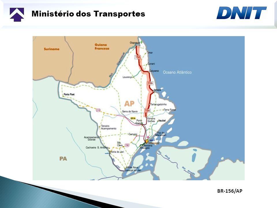 Ministério dos Transportes BR-156/AP
