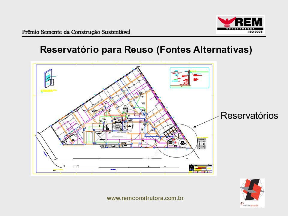 www.remconstrutora.com.br Reservatórios