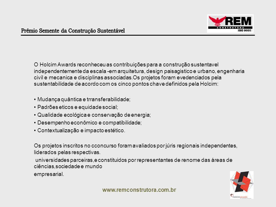 www.remconstrutora.com.br Eng.° Renato Mauro Diretor Técnico Rem Construtora Tel.: (11) 3872 5183 www.remconstrutora.com.br