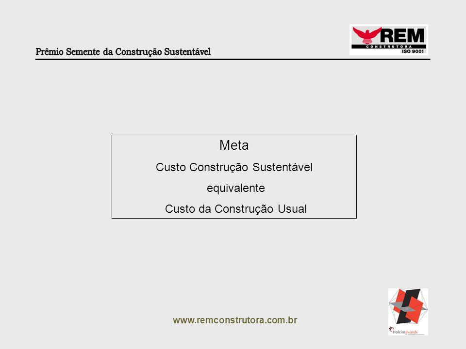 www.remconstrutora.com.br Separação e Coleta Seletiva de Lixo (Durante e Pós Obra) Economia Recursos Naturais Alívio Aterros Sanitários