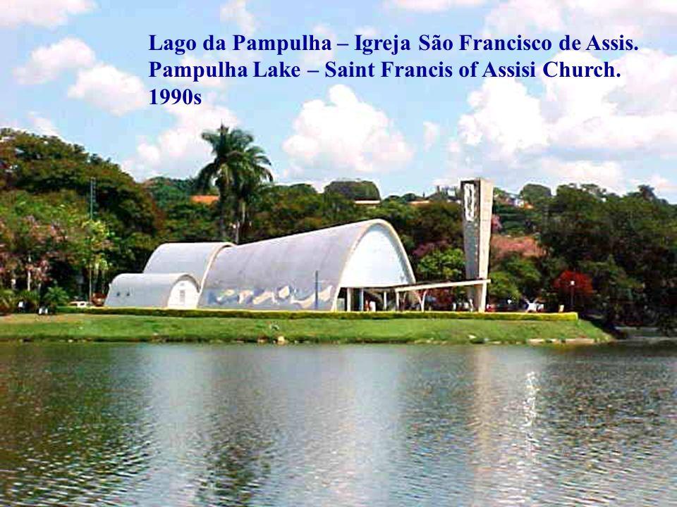 Lago da Pampulha – Igreja São Francisco de Assis.Pampulha Lake – Saint Francis of Assisi Church.