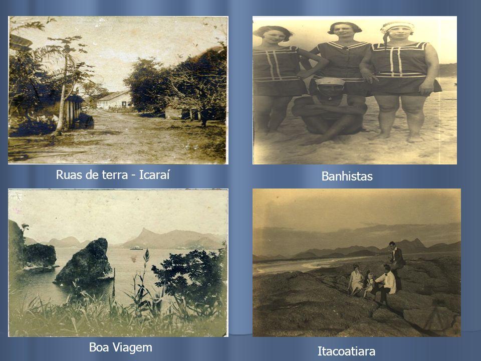 Banhistas – Praia de IcaraíIcaraí – Início do Século Casario Praia de Icaraí