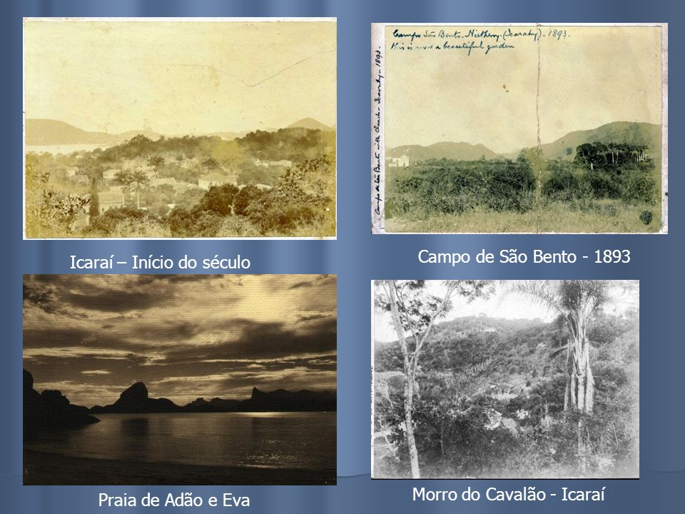 Centro de Niterói – Pca Martin Afonso Palacete do Barão de icarahy Estaleiro Cia. Viação Cantareira