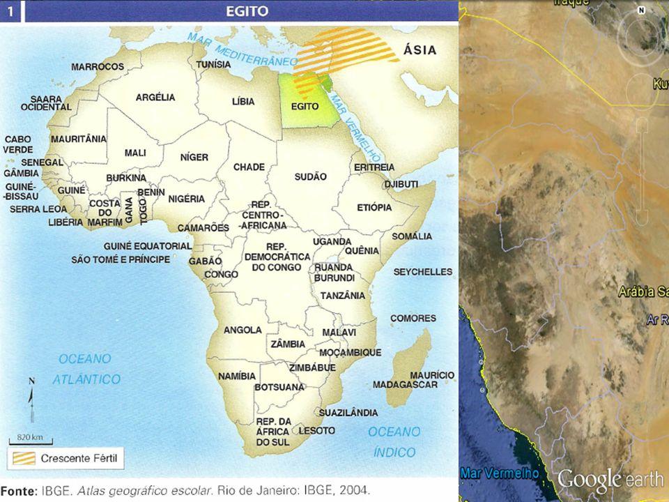 Egito: localização