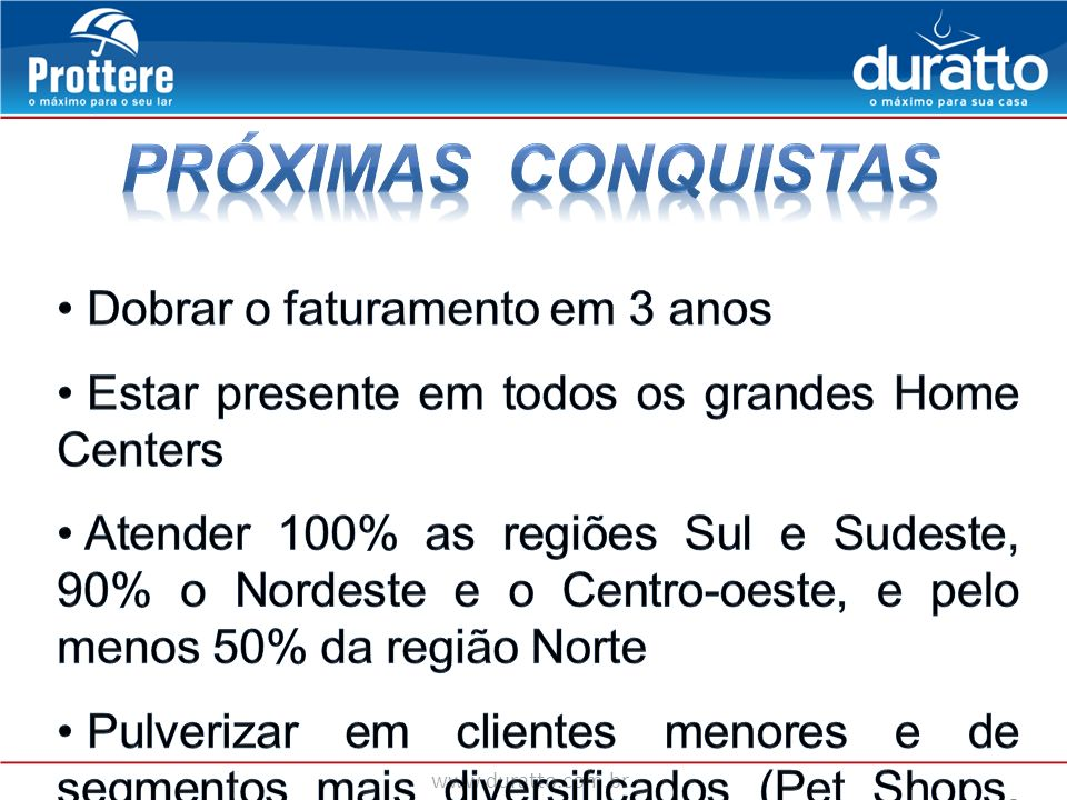 www.duratto.com.br AÇÃO – OFERTA DOS PRODUTOS – IMPULSIONA AS VENDAS