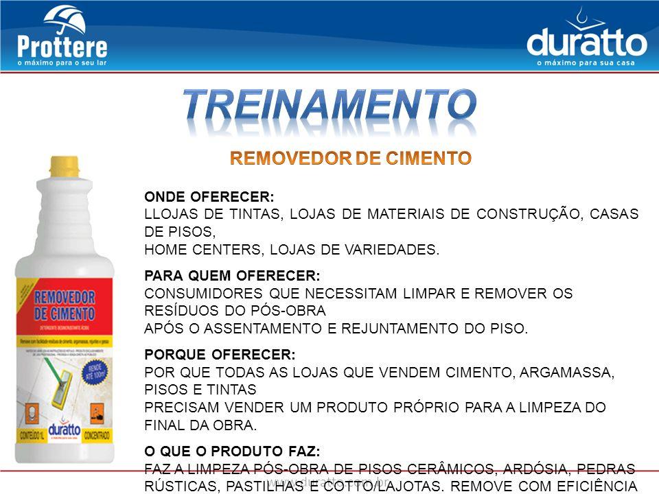 www.duratto.com.br ONDE OFERECER: LLOJAS DE TINTAS, LOJAS DE MATERIAIS DE CONSTRUÇÃO, CASAS DE PISOS, HOME CENTERS, LOJAS DE VARIEDADES. PARA QUEM OFE