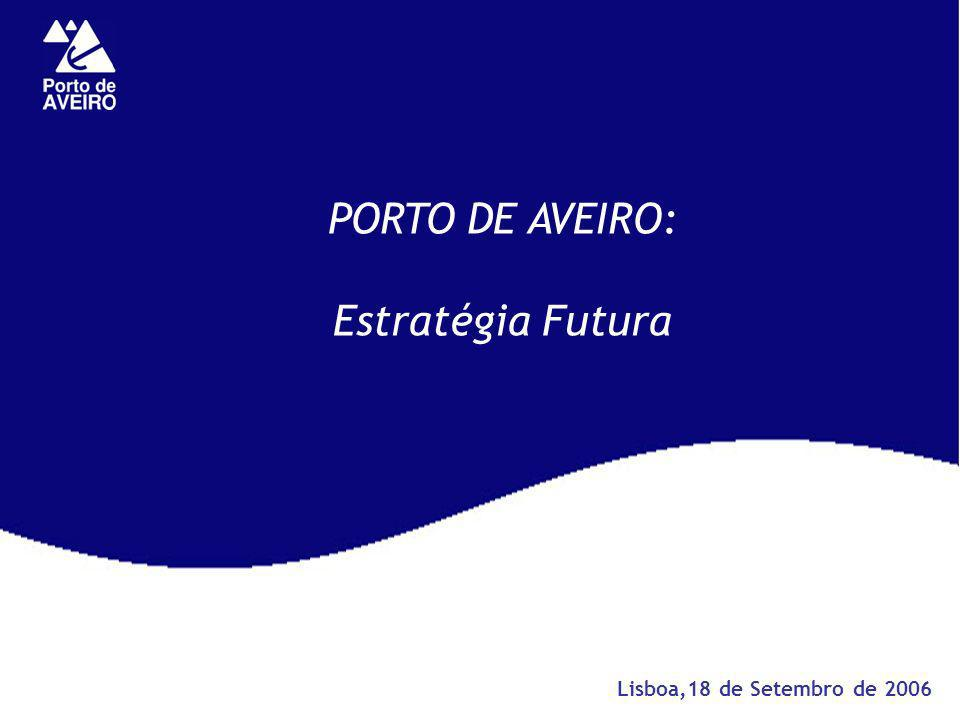 PORTO DE AVEIRO: Estratégia Futura Lisboa,18 de Setembro de 2006