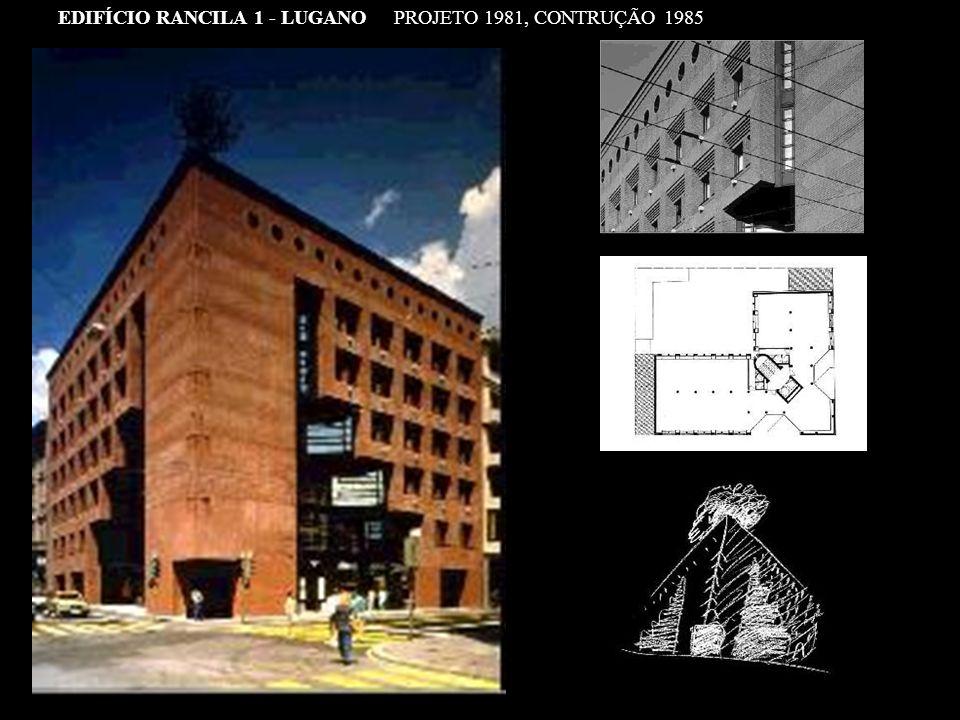 EDIFÍCIO RANCILA 1 - LUGANO PROJETO 1981, CONTRUÇÃO 1985