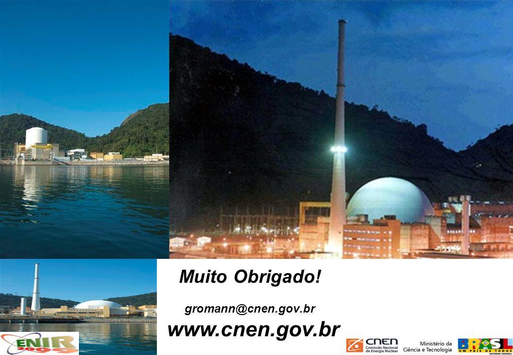 www.cnen.gov.br Muito Obrigado! gromann@cnen.gov.br