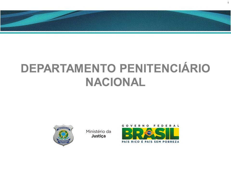 1 CENÁRIO ATUAL DEPARTAMENTO PENITENCIÁRIO NACIONAL